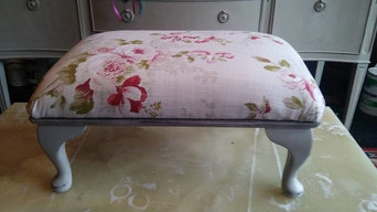 Vintage footstool...SOLD