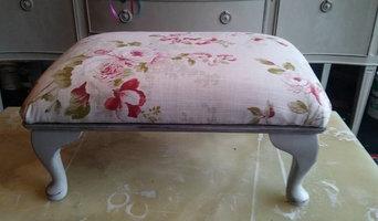 Vintage footstool...SOLD