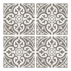 Floor Tiles, Satin Grey, Set of 5 m²