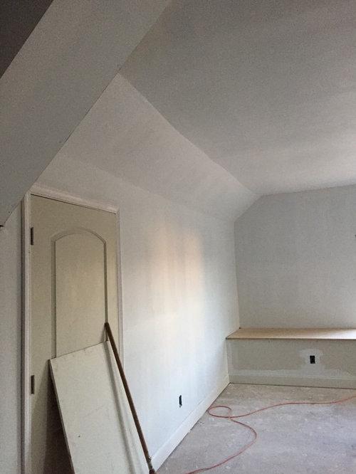 Uneven Drywall Seams