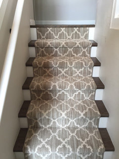 A Neat Patterned Carpet Would Be Gorgeous. Either Wall To Wall Or Run  Hardwood Up The Stairs And Install A Statement Runner Over The Wood.