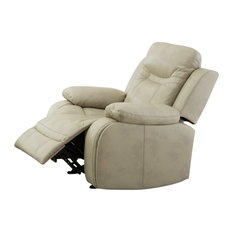 Carlo Recliner Chair With Manual Handle Taupe