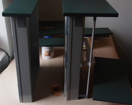 diy k chenfronten lackieren. Black Bedroom Furniture Sets. Home Design Ideas