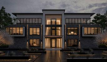 3D Visualisierung eines repräsentatives Mehrfamilienhauses
