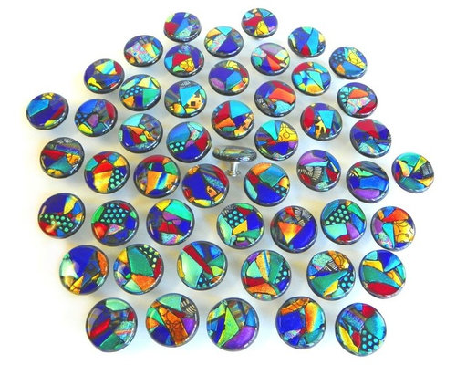mosaic glass kitchen cabinet hardware in jewel tones dichroic art glass cabinet and drawer