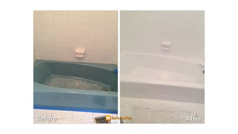 Full bathroom refinish