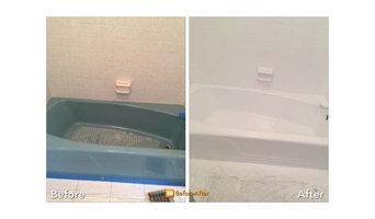 Full bathroom refinish