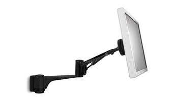 Articulated Arm Wall Mount in Black