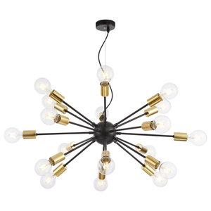 Jackson Loft Sputnik Chandelier, 18 Lights