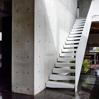 Modern Staircase by Auhaus Architecture