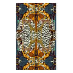 Animal Print Eco Canvas Upholstery Fabric