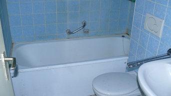 Apartment 17 - Badezimmer vor der Renovierung