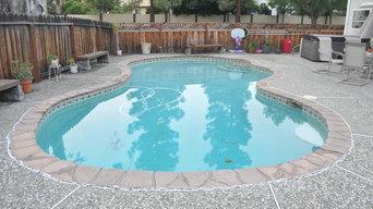 Concord, CA pool remodel