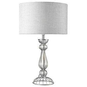 Noho Table Lamp, Polished Chrome