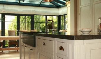 Kücheneinrichtung im englischen Landhausstil