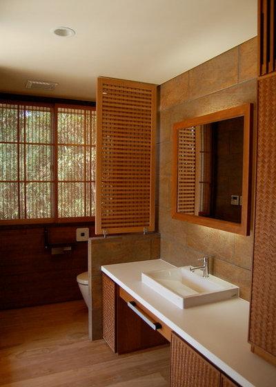 アジアン 浴室・バスルーム by 環アソシエイツ・高岸設計室