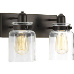 Transitional Bathroom Vanity Lighting by Lampclick