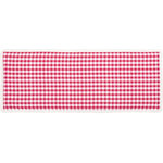 "VHC Brands - Emmie Red 13""x36"" Runner - Bring your country picnic indoors this winter with the 13x36 Emmie Red Runner. Our on-trend yet classically styled look is flourished with gathered ruffles to add a holiday spin to this farmhouse hit. 100% cotton."