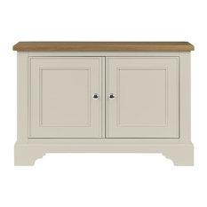 Somerdale Display Cabinet Base Unit, Ivory
