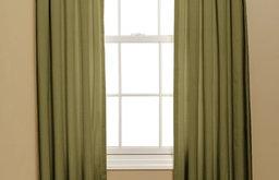 Inverted Box Pleat Curtain, Duiponi Leaf