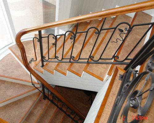 Safety Stair Flooring Options Cork Flooring