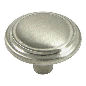 Stone Mill Hardware Satin Nickel Sidney Cabinet Knob
