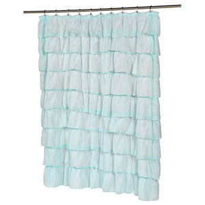 Carnation Home Carmen Polyester Shower Curtain
