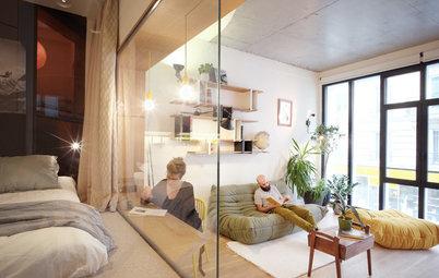 Houzz Франция: Квартира на месте многоярусного гаража