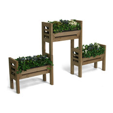 Algreen Products - Algreen Stack'n Garden Modular Planters - Outdoor Pots and Planters