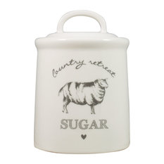 English Tableware Co. Country Retreat Sugar Canister