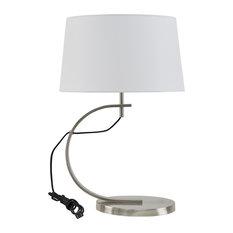 INK+IVY Octavia Table Lamp Black