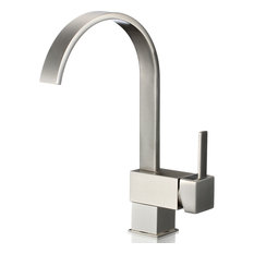 iSpring L8208BN Single Handle 360 Degree Swivel Kitchen/Bar Sink Faucet