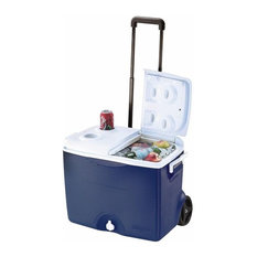 Rubbermaid 45 Quart Wheeled Cooler Assorted Colors