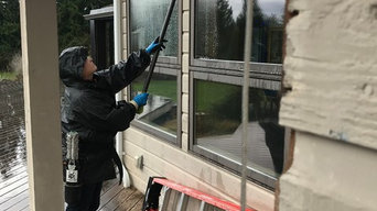 Our latest residential window cleaning in Kent,WA..