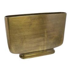 Celia Vase, Medium, Brass