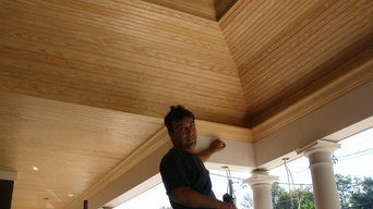 Tray Ceiling Porch