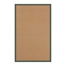 "Linon Athena 8'9"" x 12' Transitional Wool Rug, Cork and Green"