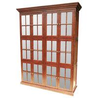 12 Door Library Bookcase