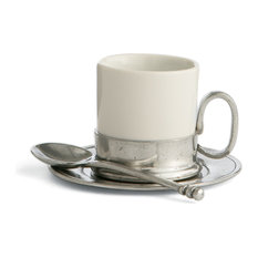 2.5 oz Tuscan Espresso Cup & Saucer with Spoon