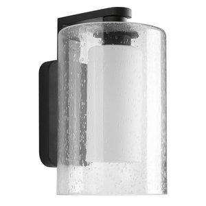 Progress Lighting 1-100W Medium Wall Lantern, Black