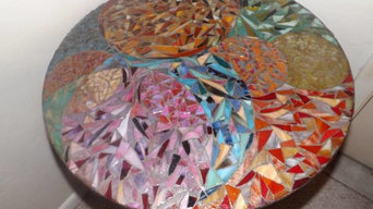 Mosaic Abstract Table