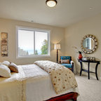 Beach House Transitional Bedroom New York By Heather Ryder Design
