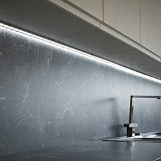 - Surface mounted aluminium under cabinet profile - Under Cabinet lighting