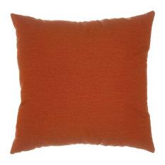 "Pawleys Island Canvas Brick Sunbrella Designer Porch Pillow 18"" Square"