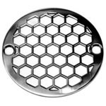 """Designer Drains - 3.25"""" Round Shower Drain Cover 