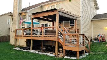 Catlin Lane Custom Deck w/ Pergola