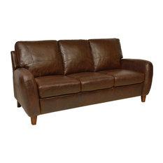 Bay   Guiliani Italian Leather Sofa   Sofas