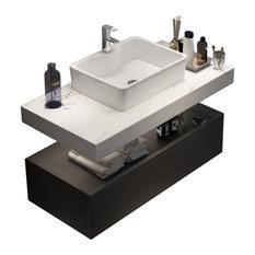 50 Most Popular Black Bathroom Vanities For 2021 Houzz