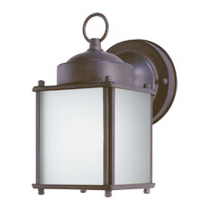 """Westinghouse 6488300 8.25"""" Tall 1 Light Outdoor Lantern Wall Sconce"""