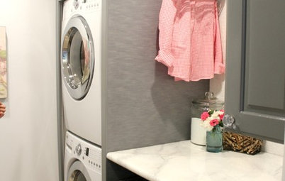 Houzz TV: Mother of 6 Rocks Her Laundry Space